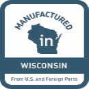 Manufactured in Wisconsin Logo