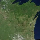 Wisconsin from Space